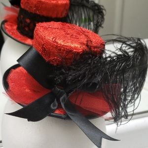 Accessories - Gothic Burlesque Mini Top Hat